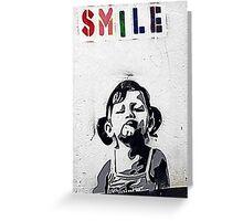 Banksy Poster. Greeting Card