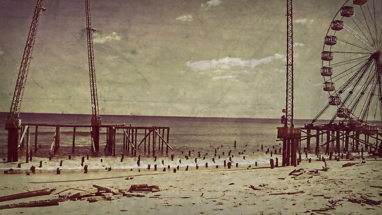 Seaside Heights After Sandy by Jessica Liatys