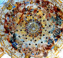 Ettal Abbey ~ Frescos under the dome by ©The Creative  Minds