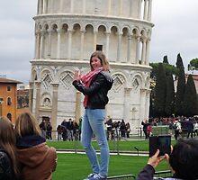 Superwoman - Pisa by Francis Drake