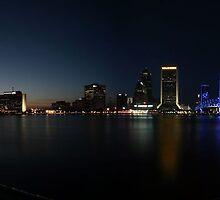Jacksonville Skyline by Dani Gee Phokus & [x]Pose