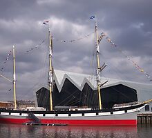 The Glenlee, The River Clyde, Glasgow by MagsWilliamson