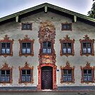 Painted Houses - Lüftlmalerei - Oberammergau - Germany by paolo1955