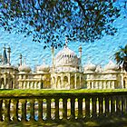 Brighton Pavilion in Oils by SMCK