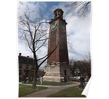 Carrie Tower, Brown University, Providence, Rhode Island Poster