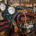Harley Davidsons by Bill Spengler