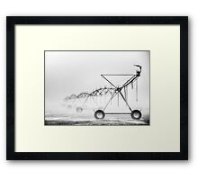 Dinosaurs in the Mist - Walwa Victoria (Monochrome) - The HDR Experience Framed Print