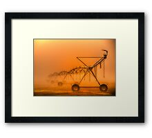 Dinosaurs in the Mist - Walwa Victoria (Colour) - The HDR Experience Framed Print