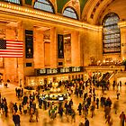 Grand Central at an Angle by Adam Northam