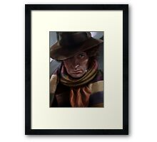 Fourth Doctor - Tom Baker Framed Print