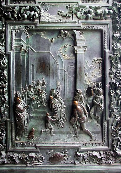 Adoration of the Magi - Door Panel -Pisa by Francis Drake