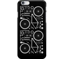 Exploded Bicycle iPhone Case/Skin