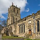 Bedale church Back view by jasminewang