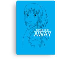 Spirited Away - Chihiro Canvas Print