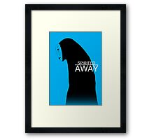 Spirited Away - No Face Framed Print