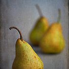 Still Life #14 - As they say a nice Pear by Malcolm Heberle