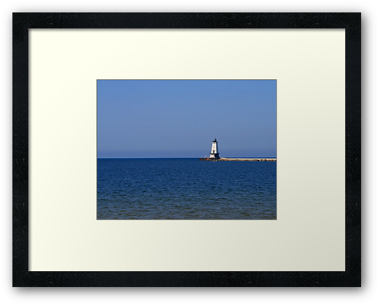 Frankfort North Breakwater Light by Jack Ryan