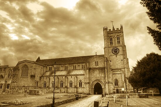 Christchurch Priory by Chris Day