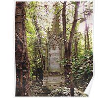 Highgate Cemetery Mears Memorial Poster