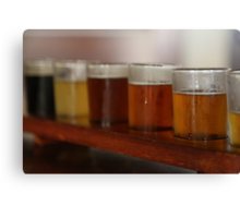 James Squire beer sampler Canvas Print