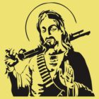 Jesus With Rifle by GeekLab
