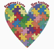 Help support Autism Awareness by Paul Lawrence