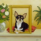 Chihuahua V - Mona Lisa by John Silver