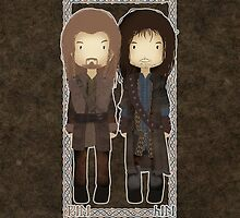 "Cute Fili and Kili / ""The Hobbit"" by koroa"