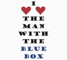 I (love love) The Man With The Blue Box by skullzie