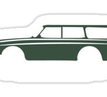 Volvo Amazon Station Wagon Kombi Green Eerkes Dad's and Boyfriend's Sticker