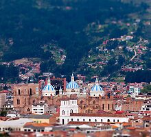 Overlooking Cuenca, Ecuador by Paul Wolf