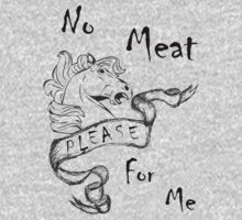 No Horse Meat For Me by veganese