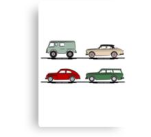 Volvo Lineup Canvas Print