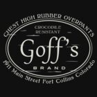 Goff's Chest High Rubber Overpants by jeffheimbuch
