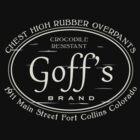 Goff's Chest High Rubber Overpants by jeffheimbuch
