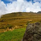 Pichincha Volcano by Paul Wolf