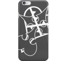 nobody heartless- white iPhone Case/Skin