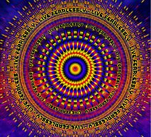 Mandala LIVE FEARLESSLY by shoffman
