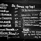 Amsterdam - Gollem Cafe - What's on Tap? by rsangsterkelly
