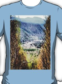 The Mountain's Valley View T-Shirt