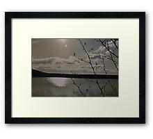 The Lake Framed Print