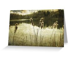 Where Time Stands Still Greeting Card