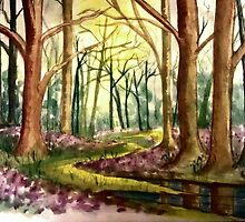 Springtime Forest by plunder