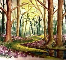 Springtime Forest by plunder