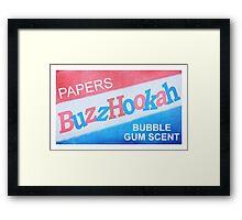 BuzzHookah - 011 Framed Print