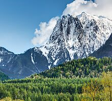 Mount Index and the Skykomish Valley by Jim Stiles