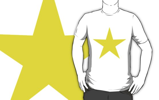 Yellow Star by CircusLetters