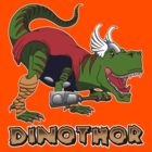 Dino-Thor by Psychobilly-Tee