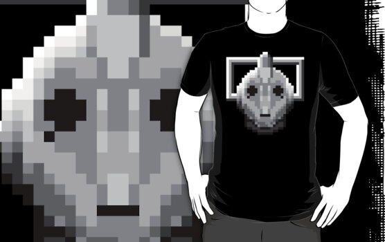 8 bit cyberman by Technohippy