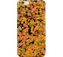 Fall Leaves Pattern iPhone Case/Skin